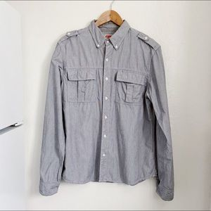 Urban Outfitters All-Son men's button up